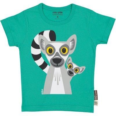 飛炫寶寶嬰幼兒精品館:飛炫寶寶【法國COQENPATE】短袖T-SHIRT(狐猴)※有機棉