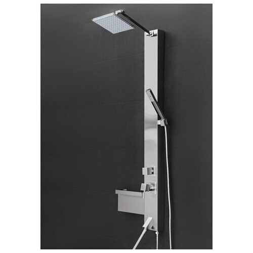Shower Panel Tower Spa Multi Function Over Head Rainfall Style Head Tub Filler Faucet Wand AKSP0045 2