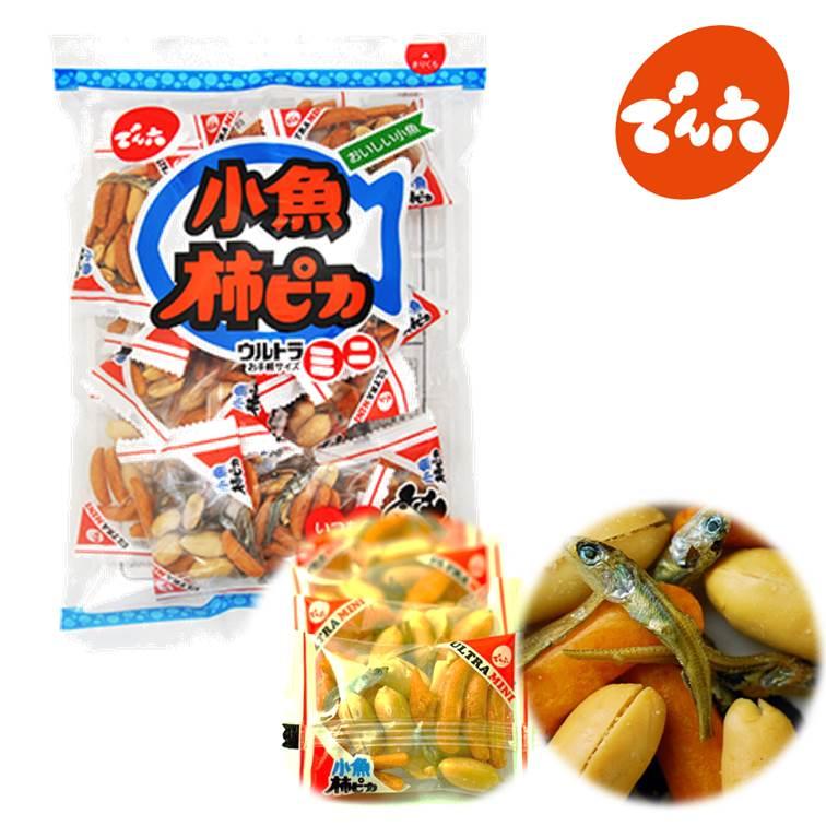 【傳六/天六】小魚花生柿種米果 165g ??六 小魚柿???????? 日本零食