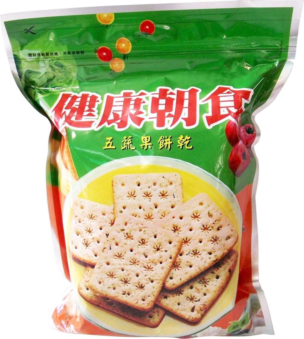 【田園工房】五蔬果餅乾 (奶素)▓無添加色素、香料、乳化劑、品質改良劑、氫化油脂、氨粉、泡打粉