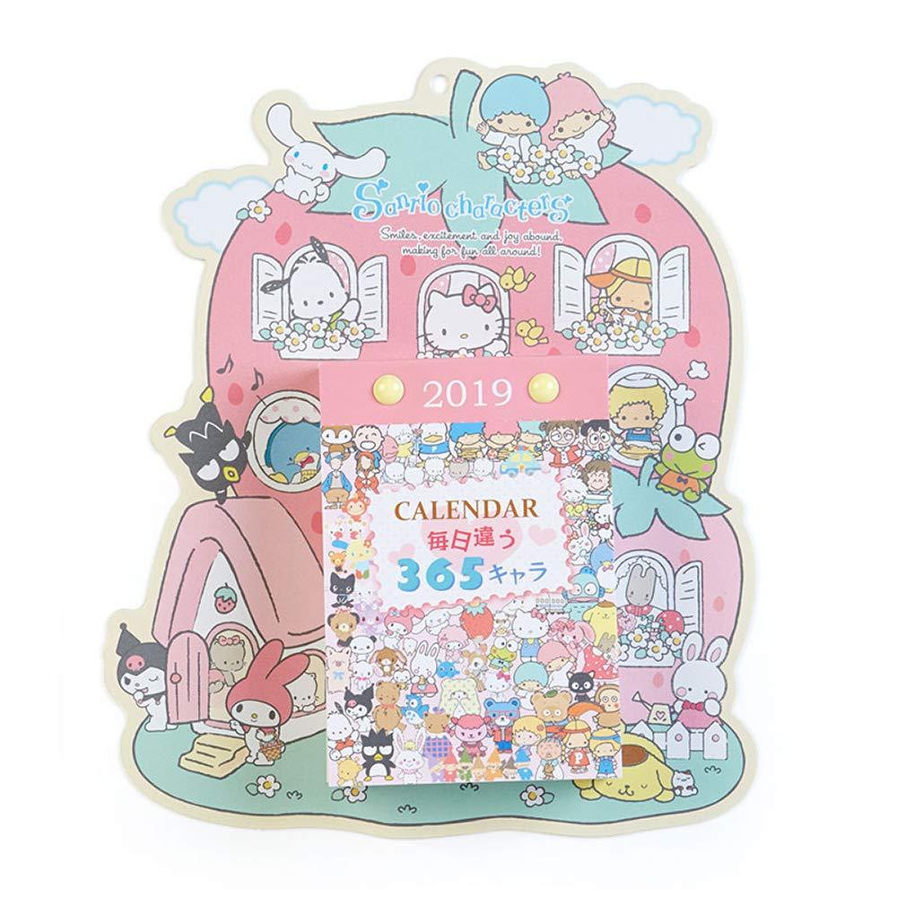 Hello Kitty 2019壁掛日曆MX,年曆 / 月曆 / 日曆 / 黃道吉日 / 黃曆 / 農民曆 / 行事曆 / 掛曆,X射線【C332399】 0