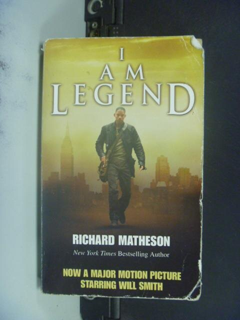 【書寶二手書T5/一般小說_GCC】I Am Legend_Matheson, Richard