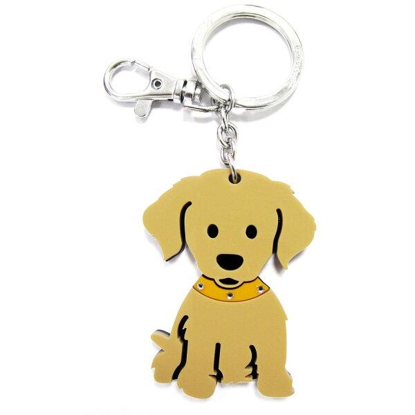 加拿大foufoudog鑰匙圈-黃金獵犬GoldenRetriever
