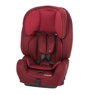 【Maxi Cosi】MAXI-COSI Aura 跨階段成長型汽車座椅-紅(新款9m-12y) ※可搭配提籃享優惠價(預購9月出貨) 【飛炫寶寶】