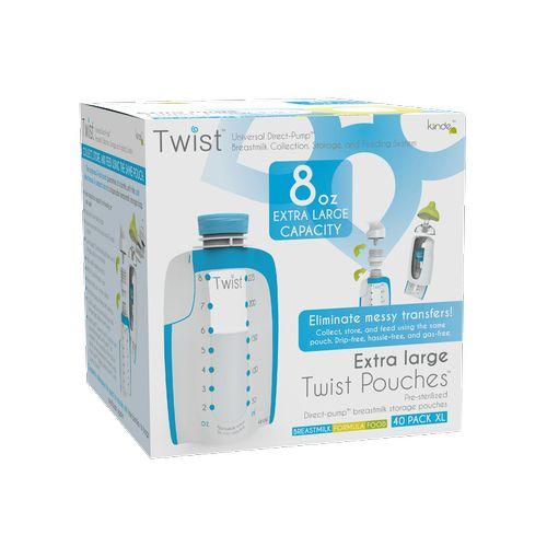 ★衛立兒生活館★Kiinde 美國第一熱銷萬用Twist 多功能母乳儲存袋240cc-40入