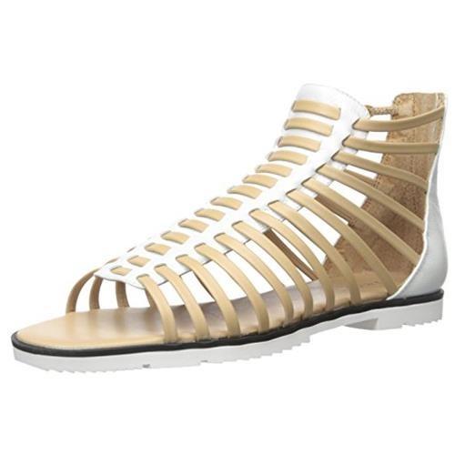 Calvin Klein Maze Womens Leather Gladiator a142e5ebdd79b22f61a96d379d8b300e