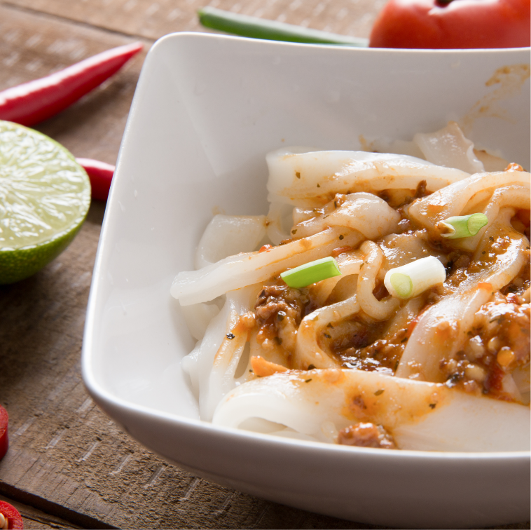 國宴指定粄條 ^| 簡單嘗鮮組^(^)  肉燥、泰式打拋醬、中華炸醬、川味辣醬、紅油擔擔、
