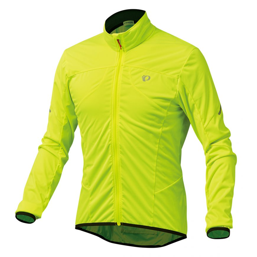 【7號公園自行車】PEARL IZUMI 2300-8 超輕量防潑水風衣(黃)