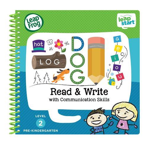 LeapFrog跳跳蛙LeapStartBooks:幼兒6-寫字遊戲★衛立兒生活館★