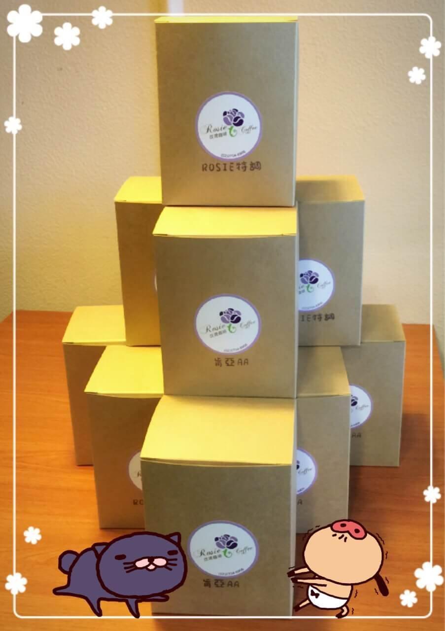 濾掛式咖啡-精選曼巴 12.0G/包 每盒10包 【玫瑰咖啡】
