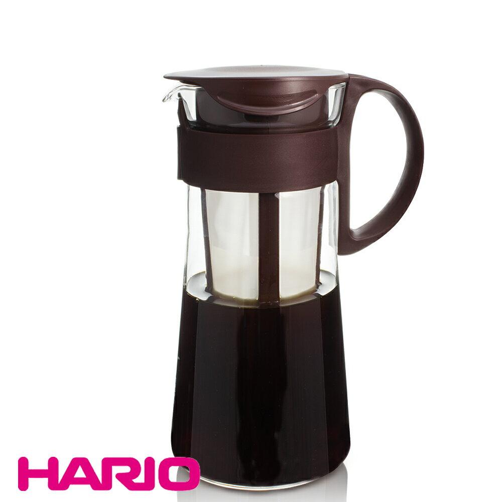 【HARIO】迷你咖啡色冷泡壺 600ml (MCPN-7CBR) 冷泡咖啡壺 茶壺
