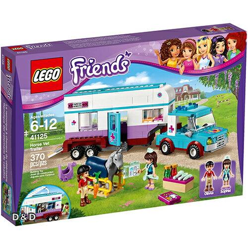 樂高積木LEGO《 LT41125 》Friends 姊妹淘系列 - 心湖城小馬獸醫拖車