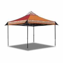 【【蘋果戶外】】OutdoorBase 23052 彩繪天空歡樂客廳帳 遮陽帳蓬 炊事帳 網屋 露營 野營
