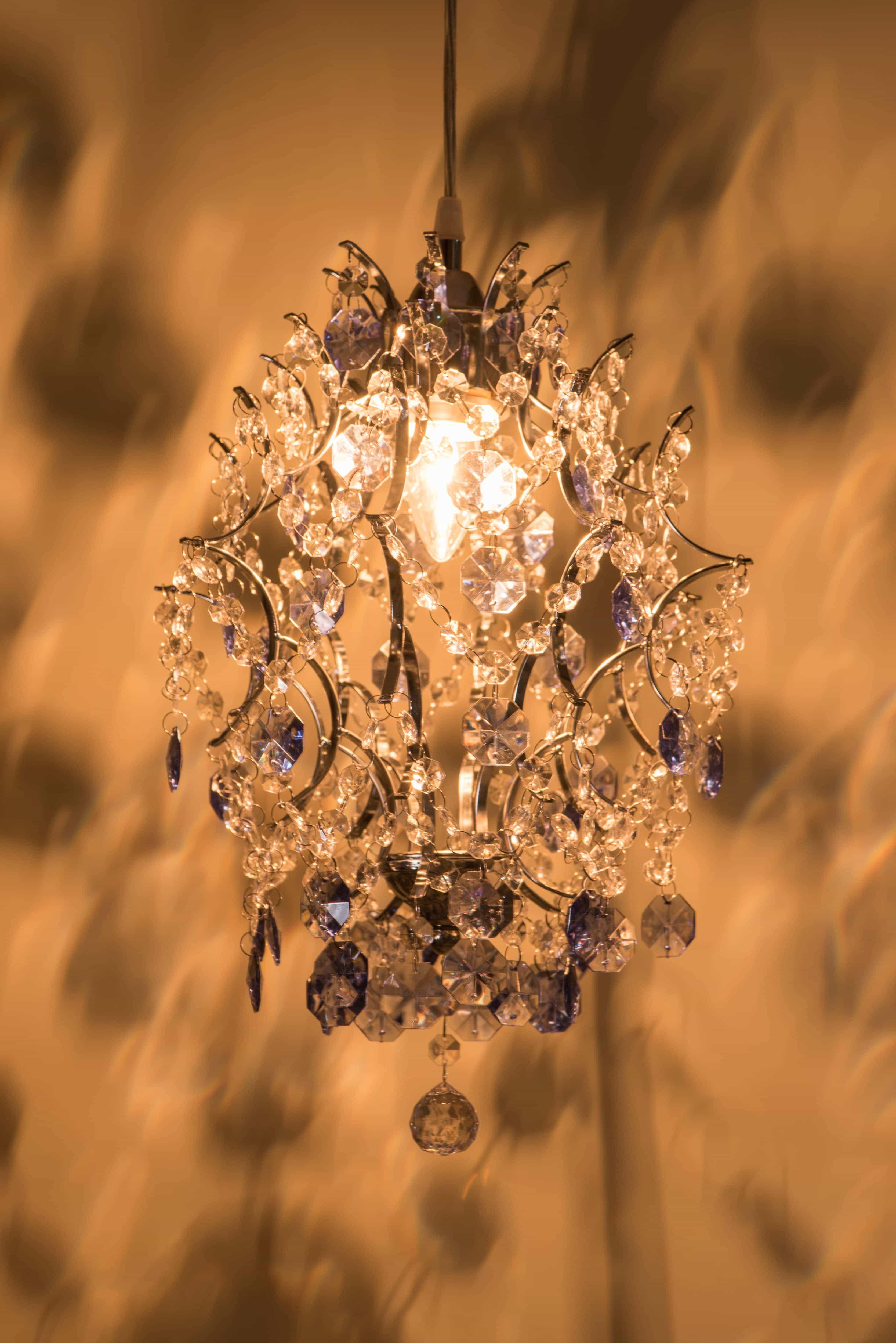 優雅鍍鉻架壓克力珠吊燈-BNL00044 6