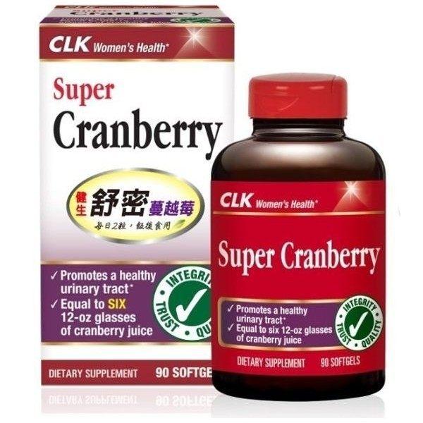 CLK健生舒密蔓越莓膠囊90顆瓶◆德瑞健康家◆