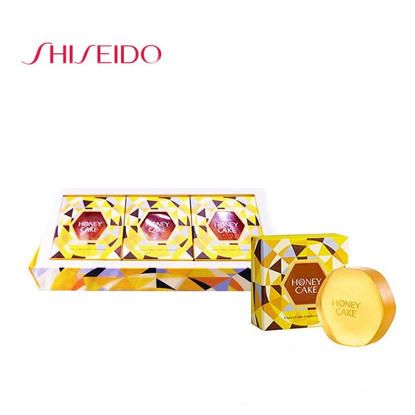 SHISEIDO資生堂  蜜澤金蜂蜜香皂100g 3(個)入一盒