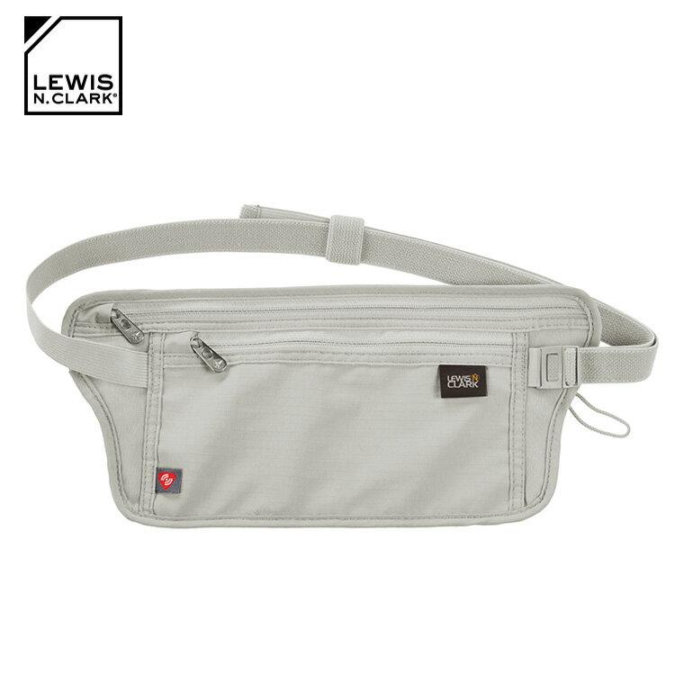 Lewis N. Clark RFID屏蔽腰包 1268  /  城市綠洲 (防盜錄、貼身腰包、旅遊配件、美國品牌) 2
