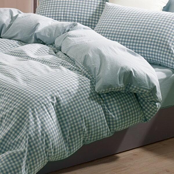 兩用被套雙人鋪棉被套色織水洗棉法蘭西[鴻宇]台灣製2113