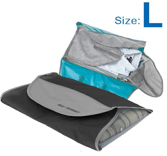 【【蘋果戶外】】Sea to summit ATLSFL 旅行用襯衫打理包 『L/230g』SHIRT FOLDERS 旅行包.隨身袋.收納袋/附摺衣板 兩色 STSATLSFL