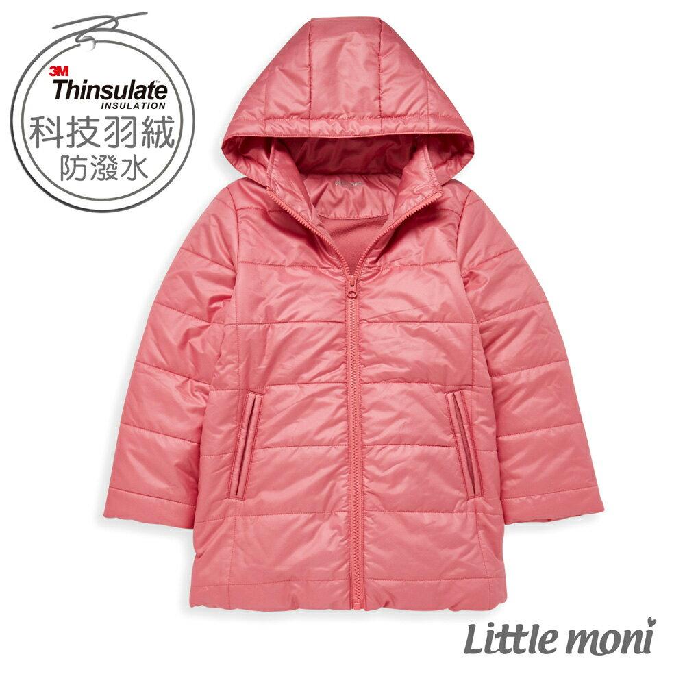 Little moni 3M科技羽絨保暖外套-熱情粉(好窩生活節) 0