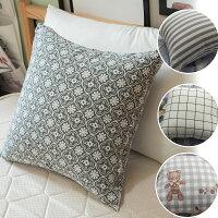 居家生活寢具推薦北歐風系列  方抱枕  45X45CM  多款可選 台灣製 好窩生活節。就在棉床本舖Annahome居家生活寢具推薦