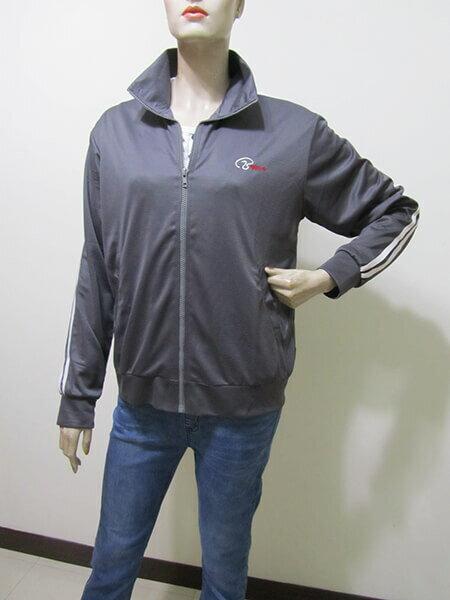sun-e台灣製吸濕排汗薄外套、防曬外套、運動外套、單層薄外套(003-1403-07)紫色、(003-1403-08)寶藍色、(003-1403-21)黑色、(003-1403-22)灰色 尺寸:M L XL 2L(胸圍:44~52英吋)(男女可穿) [實體店面保障] 8