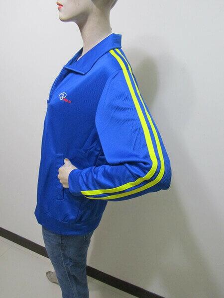 sun-e台灣製吸濕排汗薄外套、防曬外套、運動外套、單層薄外套(003-1403-07)紫色、(003-1403-08)寶藍色、(003-1403-21)黑色、(003-1403-22)灰色 尺寸:M L XL 2L(胸圍:44~52英吋)(男女可穿) [實體店面保障] 5