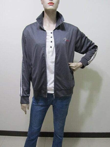 sun-e台灣製吸濕排汗薄外套、防曬外套、運動外套、單層薄外套(003-1403-07)紫色、(003-1403-08)寶藍色、(003-1403-21)黑色、(003-1403-22)灰色 尺寸:M L XL 2L(胸圍:44~52英吋)(男女可穿) [實體店面保障] 9