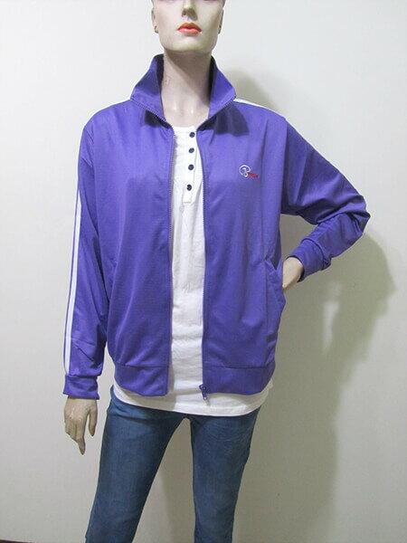 sun-e台灣製吸濕排汗薄外套、防曬外套、運動外套、單層薄外套(003-1403-07)紫色、(003-1403-08)寶藍色、(003-1403-21)黑色、(003-1403-22)灰色 尺寸:M L XL 2L(胸圍:44~52英吋)(男女可穿) [實體店面保障] 2