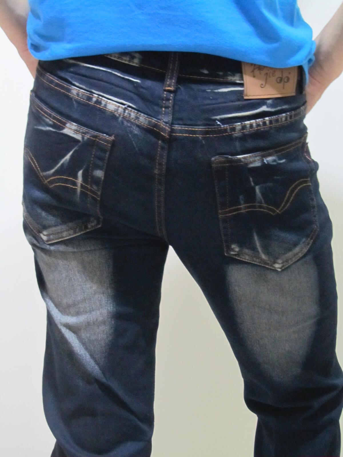 sun-e貓爪刷白牛仔褲、伸縮直筒修身牛仔長褲、顯瘦丹寧長褲、彈力牛仔長褲(307-7013-21)黑 腰圍:M L XL 2L 3L 4L(28~39英吋) 2