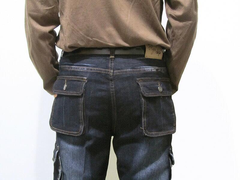 sun-e加大尺碼側貼袋彈性牛仔長褲、大尺碼伸縮立體工作褲、多口袋長褲、貓爪刷白牛仔褲、側貼袋丹寧、休閒牛仔褲、單寧長褲、側貼袋車繡龍圖案、腰圍有皮帶環(褲耳)、褲檔有拉鍊、黑色牛仔褲(307-7167-21)黑色 腰圍:M L XL 2L 3L 4L 5L(28~41英吋) [實體店面保障] 6
