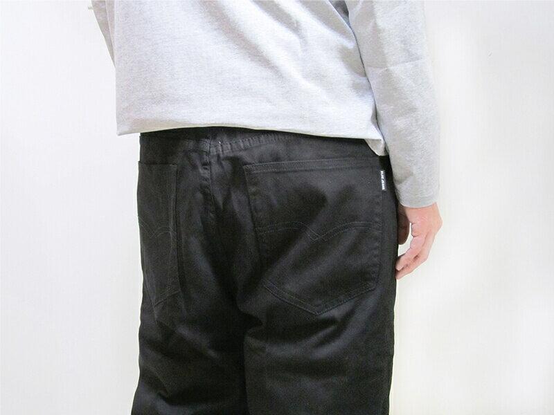 特加大尺碼 長度再加長牛仔褲 中直筒 彈性牛仔長褲 素面牛仔褲 素面長褲 黑色牛仔褲 黑色長褲 (307-7200-21)黑色 腰圍:42 44 46 48 50(英吋) [實體店面保障] sun-e 4