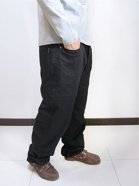 特加大尺碼 長度再加長牛仔褲 中直筒 彈性牛仔長褲 素面牛仔褲 素面長褲 黑色牛仔褲 黑色長褲 (307-7200-21)黑色 腰圍:42 44 46 48 50(英吋) [實體店面保障] sun-e 3