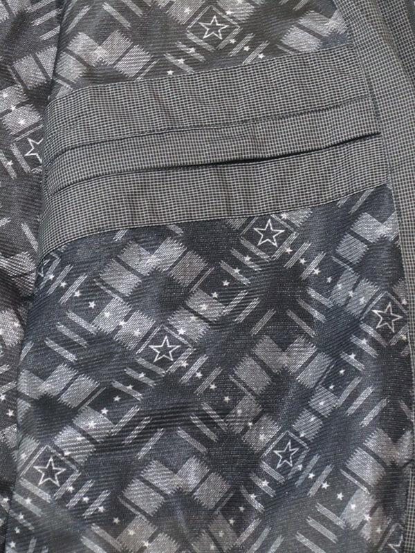 sun-e加大尺碼風衣外套、加大尺碼細格紋外套、加大尺碼夾克外套、加大尺碼防風外套、加大尺碼騎士外套(312-8882-08)藍綠色細格紋、(312-8882-21)灰色細格紋 胸圍:3L 4L(58~60英吋) [實體店面保障] 8