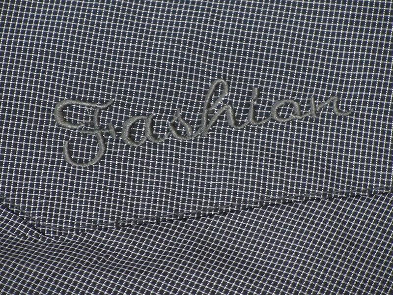 sun-e加大尺碼風衣外套、加大尺碼細格紋外套、加大尺碼夾克外套、加大尺碼防風外套、加大尺碼騎士外套(312-8882-08)藍綠色細格紋、(312-8882-21)灰色細格紋 胸圍:3L 4L(58~60英吋) [實體店面保障] 9