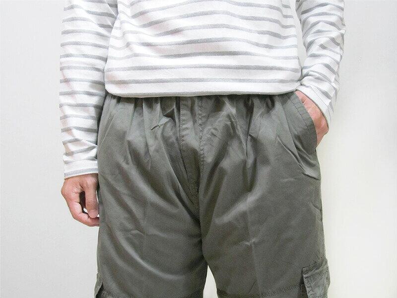 加大尺碼側貼袋工作褲 全腰圍鬆緊帶 多口袋休閒長褲 棉100% 工作長褲 休閒褲 黑色長褲 BIG&TALL CARGO PANTS (312-9926-10)淺軍綠色 (312-9926-21)黑色 腰圍:5L 6L(38~46英吋) [實體店面保障] sun-e 3