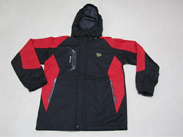 拼色風衣外套、騎士外套、連帽外套、配色休閒外套、內鋪一層薄內裡(316-1599-02)紅底配深灰色(316-1599-21)黑底配紅色 尺寸:2L 3L(胸圍:46~48英吋) [實體店面保障] sun-e 3