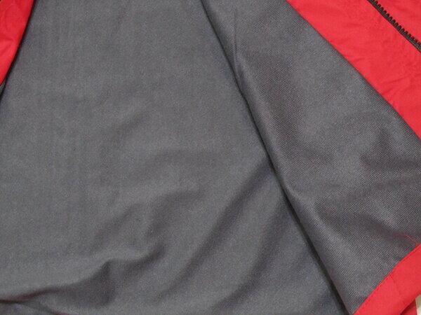 拼色風衣外套、騎士外套、連帽外套、配色休閒外套、內鋪一層薄內裡(316-1599-02)紅底配深灰色(316-1599-21)黑底配紅色 尺寸:2L 3L(胸圍:46~48英吋) [實體店面保障] sun-e 7