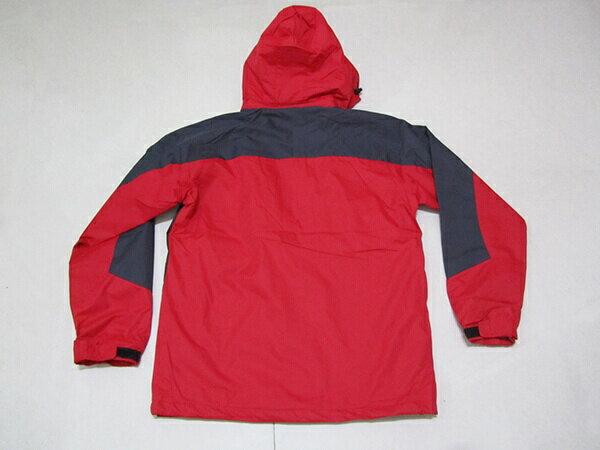 拼色風衣外套、騎士外套、連帽外套、配色休閒外套、內鋪一層薄內裡(316-1599-02)紅底配深灰色(316-1599-21)黑底配紅色 尺寸:2L 3L(胸圍:46~48英吋) [實體店面保障] sun-e 2