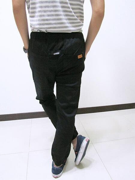 sun-e一般及加大尺碼JOGGER PANTS慢跑褲、美式褲管束口休閒褲、縮腳褲、縮口褲、顯瘦休閒褲、JOGGERS、褲管束腳褲、抽繩束口褲、街頭休閒運動風、黑色休閒長褲(321-6062-21)黑色 M、L、XL、2L(腰圍:28~35英吋) [實體店面保障] 3