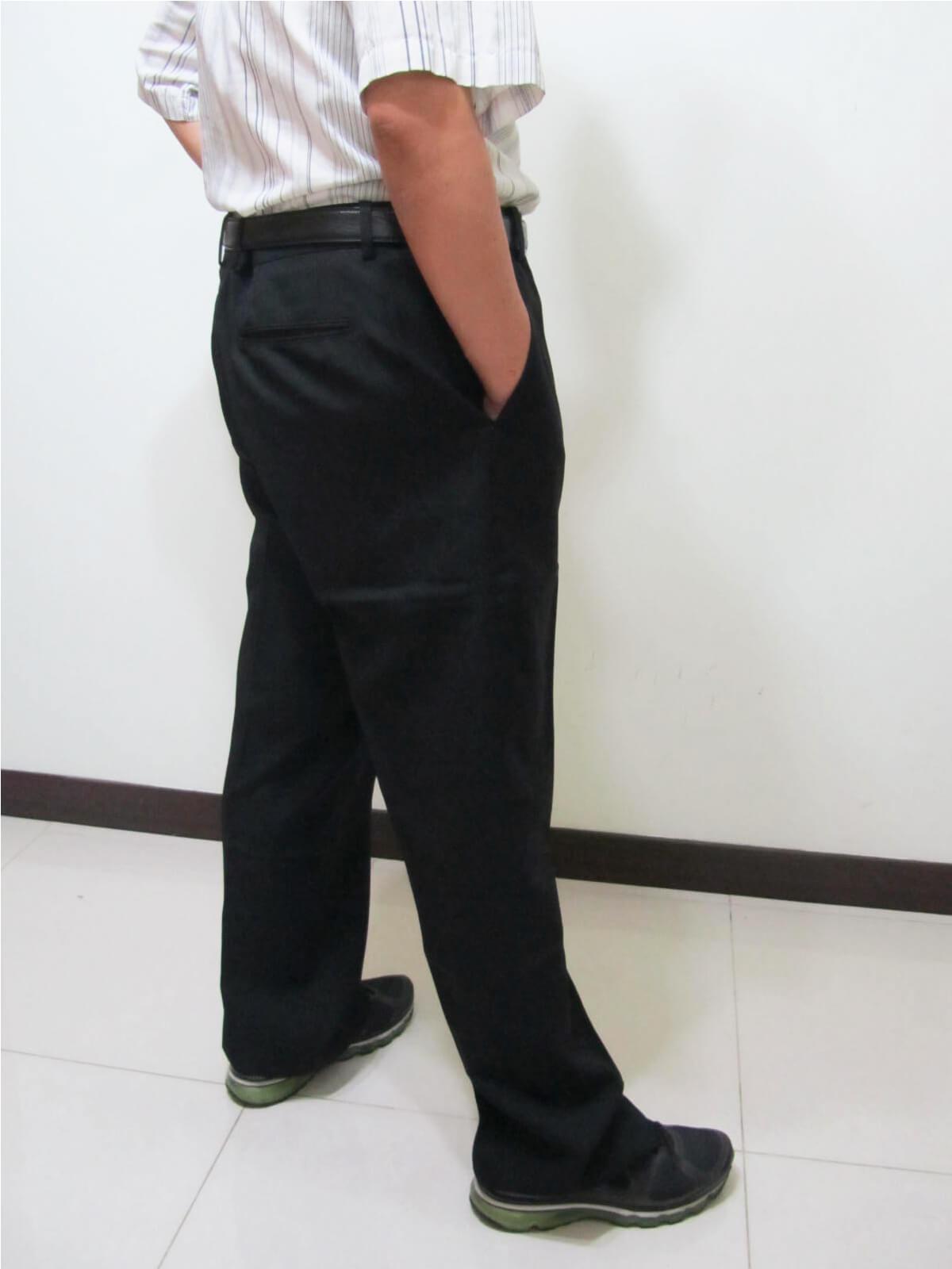 sun-e特加大尺碼西裝褲、加大尺碼平面西裝褲、加大尺碼西褲、正式場合西裝褲、標準西裝褲、上班西裝褲、商務西裝褲、黑色西裝褲、深藍西裝褲、腰圍有皮帶環(褲耳)、褲檔有拉鍊(321-7006-01)深藍(321-7006-02)黑色 腰圍:42 44 46 48 50 52 54 56(英吋) 2