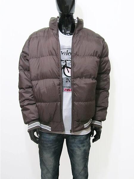 立領厚舖棉保暖外套、夾克外套、騎士外套、防寒外套、擋風外套、休閒外套、鋪棉外套、黑色外套(321-8327-01)咖啡色、(321-8327-02)綠色、(321-8327-03)黑色 L XL 2L(胸圍:48~52英吋) [實體店面保障] sun-e 3