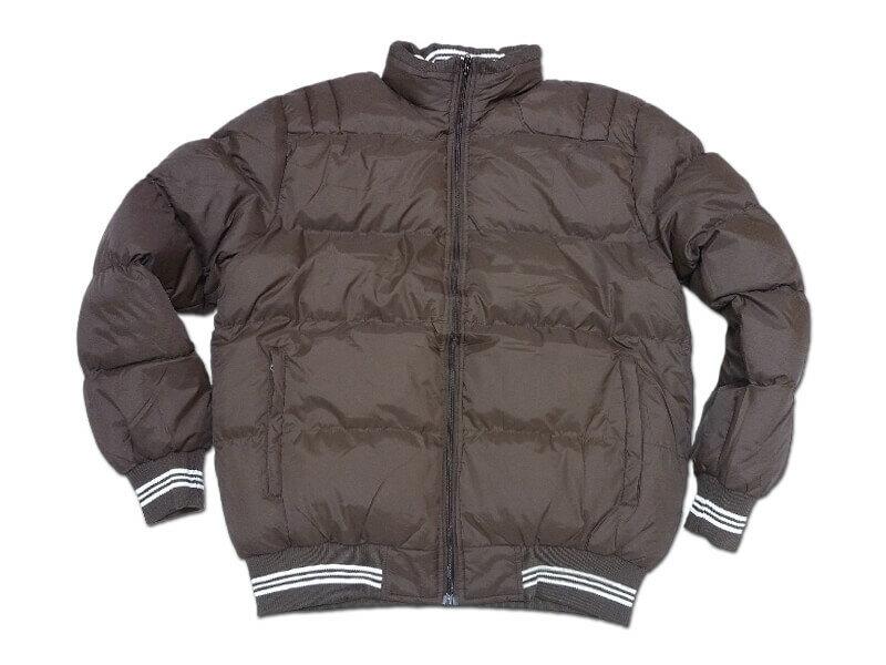 立領厚舖棉保暖外套、夾克外套、騎士外套、防寒外套、擋風外套、休閒外套、鋪棉外套、黑色外套(321-8327-01)咖啡色、(321-8327-02)綠色、(321-8327-03)黑色 L XL 2L(胸圍:48~52英吋) [實體店面保障] sun-e 1