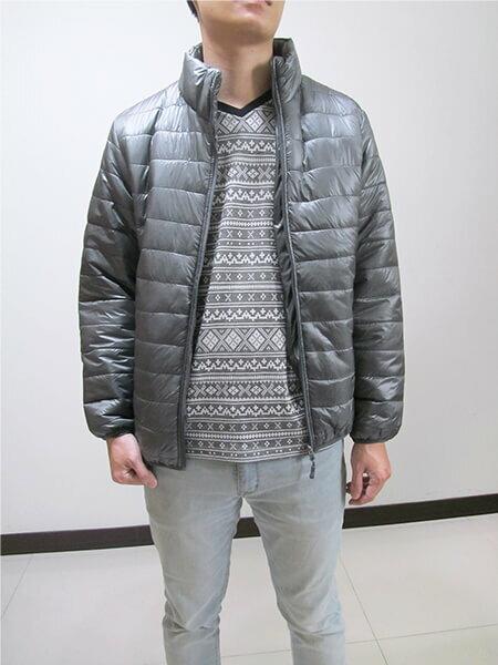 加大尺碼超輕量立領舖棉保暖外套 大尺碼夾克外套 大尺碼騎士外套 大尺碼防寒外套 大尺碼擋風外套 大尺碼休閒外套 鋪棉外套 藍色外套 黑色外套 (321-A831-08)深藍色、(321-A831-21)黑色、、(321-A831-22)灰色、(321-A830-22)灰綠色 5L 6L 7L 8L (胸圍:56~62英吋) [實體店面保障] sun-e 8