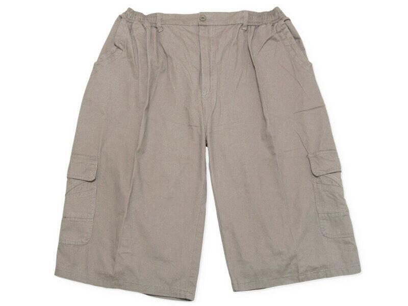 sun-e特加大尺碼側貼袋八分褲、大尺碼後腰圍鬆緊帶八分褲、大尺碼短褲、大尺碼工作褲、多口袋休閒褲、100%棉褲、腰圍有皮帶環(褲耳)、褲檔有拉鍊、大尺碼八分褲、黑色八分褲、卡其八分褲、BIG&TALL、CROPPED PANTS、CROPPED SHORTS(327-0035-16)卡其色、(327-0036-19)鐵灰色、(327-0037-21)黑色 單一尺寸 F 腰圍:40~58(英吋) [實體店面保障] 1