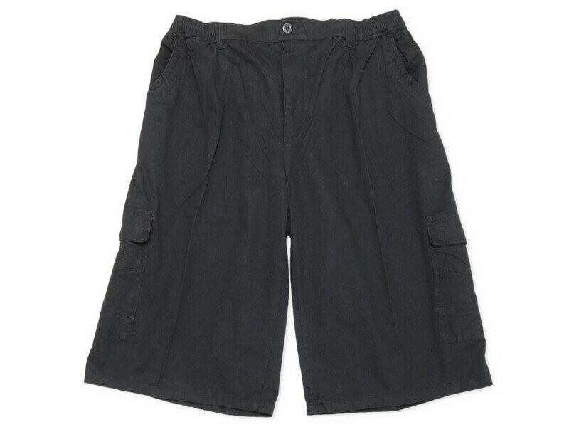 sun-e特加大尺碼側貼袋八分褲、大尺碼後腰圍鬆緊帶八分褲、大尺碼短褲、大尺碼工作褲、多口袋休閒褲、100%棉褲、腰圍有皮帶環(褲耳)、褲檔有拉鍊、大尺碼八分褲、黑色八分褲、卡其八分褲、BIG&TALL、CROPPED PANTS、CROPPED SHORTS(327-0035-16)卡其色、(327-0036-19)鐵灰色、(327-0037-21)黑色 單一尺寸 F 腰圍:40~58(英吋) [實體店面保障] 5