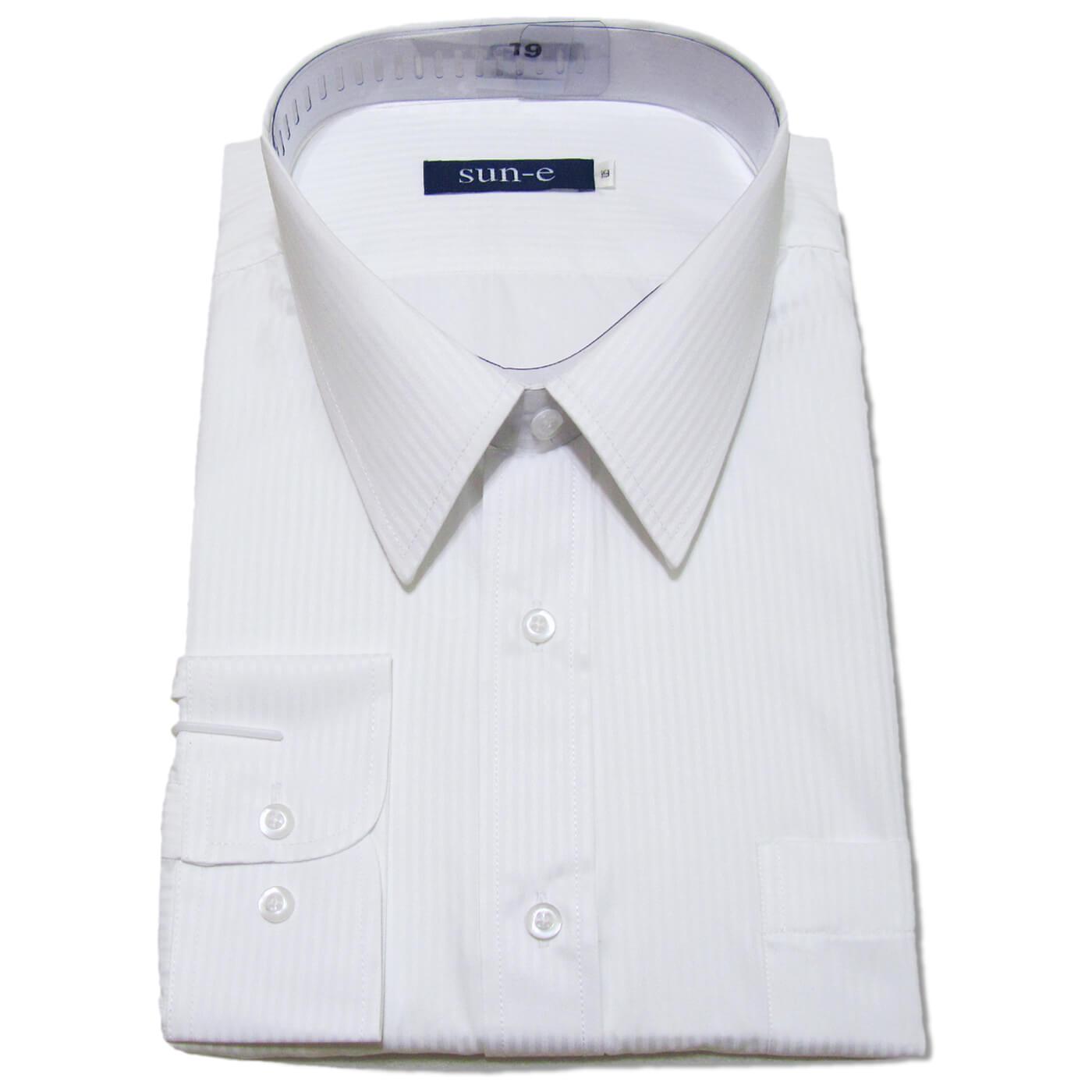 長袖條紋襯衫 標準襯衫 上班族襯衫 正式場合襯衫 商務襯衫 面試襯衫 柔棉舒適不皺免燙長袖襯衫 一般及加大尺碼襯衫 五種顏色可供選擇(335-701-01)白色襯衫、(335-703-09)淺藍色襯衫、(335-707-22)灰色襯衫、(335-710-14)淺黃色襯衫、(335-711-21)黑色襯衫 [實體店面保障] sun-e 1