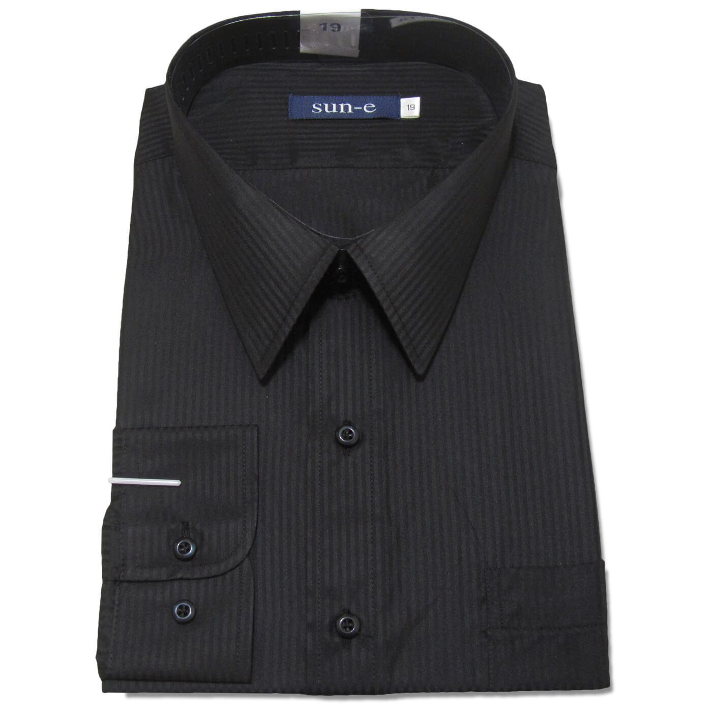 長袖條紋襯衫 標準襯衫 上班族襯衫 正式場合襯衫 商務襯衫 面試襯衫 柔棉舒適不皺免燙長袖襯衫 一般及加大尺碼襯衫 五種顏色可供選擇(335-701-01)白色襯衫、(335-703-09)淺藍色襯衫、(335-707-22)灰色襯衫、(335-710-14)淺黃色襯衫、(335-711-21)黑色襯衫 [實體店面保障] sun-e 5
