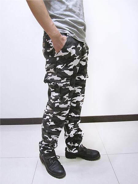彈性迷彩長褲 側貼袋工作褲 多口袋休閒褲 休閒長褲 CARGO PANTS 迷彩褲 熱銷褲款 (390-8936-22)灰白色、(390-8937-10)軍綠色 M L XL 2L 3L 4L 5L (腰圍:28~41英吋) [實體店面保障] sun-e 3