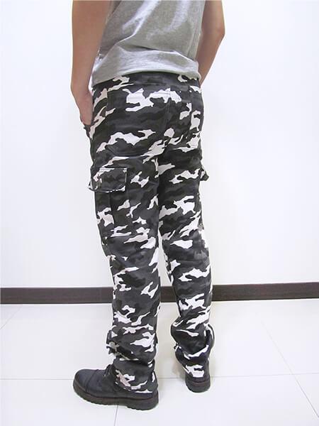 彈性迷彩長褲 側貼袋工作褲 多口袋休閒褲 休閒長褲 CARGO PANTS 迷彩褲 熱銷褲款 (390-8936-22)灰白色、(390-8937-10)軍綠色 M L XL 2L 3L 4L 5L (腰圍:28~41英吋) [實體店面保障] sun-e 4